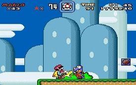 Szene aus Super Mario World