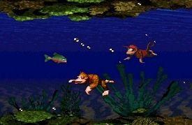 Szene aus Donkey Kong Country