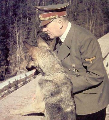 Franz Josef Wagner (links) und Adolf Hitler