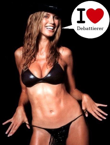 Heidi liebt Debattieren