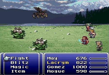 Szene aus Final Fantasy VI